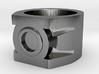 Green Lantern ring size 7 3d printed