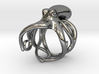 Octopus Ring 17mm 3d printed