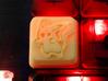 Pikachu Cherry MX R4 Keycap 3d printed