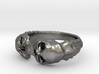 Double Skull Ring 3d printed