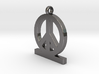 Peace Pendan Man 3d printed