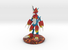 Flamedramon Sculpture (18 Cm Tall) 3d printed