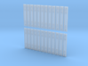 1:43.5 Decauville Type 4 Channel Tie - 24 Pieces 3d printed