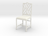 1:12 Chinese Chippendale Chair 3d printed