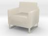 "1/2"" scale Arm Chair 3d printed"