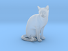 Cat sitting 1/29 scale 3d printed