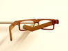 BoomGlasses 3d printed Self-Dyed Chestnut: Wooden textures