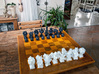 Surreal Chess Set - My Masterpieces - The Queen 3d printed The Full Set