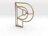 P Typolygon 3d printed