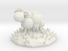 Funky sheep in a patch of funky grass 3d printed