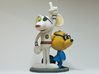 Danger Mouse and Penfold 3d printed Danger Mouse and Penfold