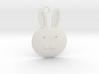 Happy Grief Bunny Pendant 3d printed