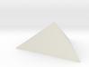 Trigonal pyramid 3d printed