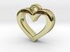 Heart Frame Pendant 3d printed