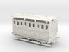 Spanish early wooden carriage 1st 00 Gauge 1:76 3d printed