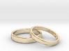Rings Wedding 3d printed