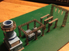 Sub Power Station Gas Turbine Z Scale 3d printed Gas Turbine unit Z scale
