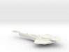 Cardassian Warship 3d printed