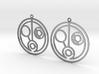 Helen - Earrings - Series 1 3d printed