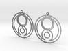 Genna - Earrings - Series 1 3d printed