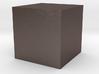 A Cube 3d printed