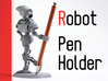 Robot Pen Holder 3d printed