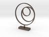 3 Circle Metal Art 1:12 scale modern art sculpture 3d printed