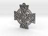 Celtic Cross With Vines Pendant 3d printed