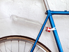 Bicycle Bottle Fender Mount  3d printed White Strong & Flexible