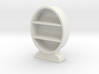 1:48 Oval Bookcase 3d printed