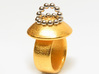 Magnetic Sculpture Ring Size 7 3d printed make your own sculpture