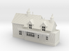 N Scale Wool Railway Station building 1:148  3d printed