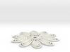 60mm medium tos insignia starfleet flower 3d printed