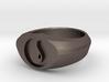 MTG Island Mana Ring (Size 7) 3d printed