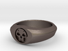 MTG Swamp Mana Ring (Size 15 1/2) 3d printed