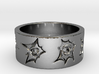 Outlaw Bullet Holes Ring Size 11 3d printed