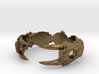 Saber-toothed Cat Ring 3d printed