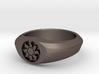 MTG Plains Mana Ring (Size 12) 3d printed