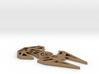 Star Wars inspired TIE Interceptor necklace (TIE F 3d printed
