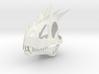 European Dragon Skull 3d printed