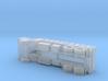 3-Axle Fladbed-Truck, 3-Achs Pritschen-LKW 1/285  3d printed