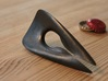 Zisch... Bottle Opener - (solid version) 3d printed Polished Grey