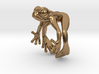 Frog Ring v2 15mm 3d printed