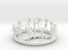 Venetian Plague Doctor Zoetrope 3d printed