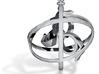 Custom Design Spinning Marguerite Pendant 3d printed