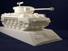 1:35 M18 Hellcat Tank Destroyer from World of Tank 3d printed Photo of printed model on stand. Stand is sold separately