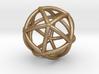 0074 Stereographic Polyhedra - Icosahedron 3d printed