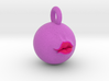 Pucker Up 2'' Pendant  3d printed