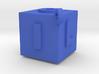 ILOVEU(blue) 3d printed