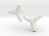 Tetrapod (1.5 Inch) 2 3d printed